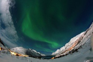 Northern Lights at Ersfjordbotn