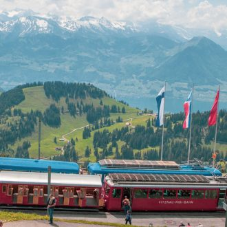 Ch Switzerland Mt Rigi Summer