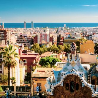 Es City View From Park Guell Barcelona