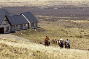 Horseback riding around EOLO Patagonia