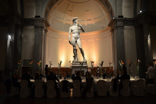 Exclusive dinner at Accademia