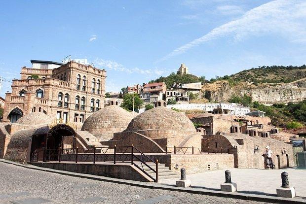 Bathouses in Tibilisi