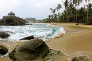 Caribbean beach at Parque Nacional Natural Tayrona