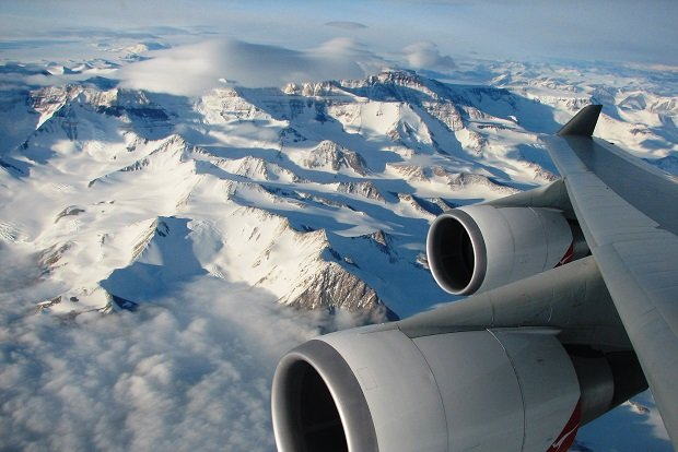Image credit: Antarctica Flights