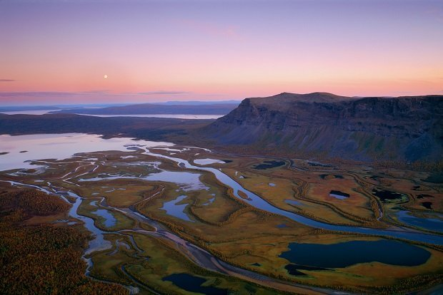 Sarek National Park in Sweden