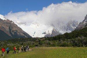El Chalten, Argentina, Walkers On Paths Of Fitz Roy